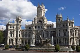 Place de la mairie à Madrid