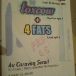 fly concert de Noel 4fats Toxcow