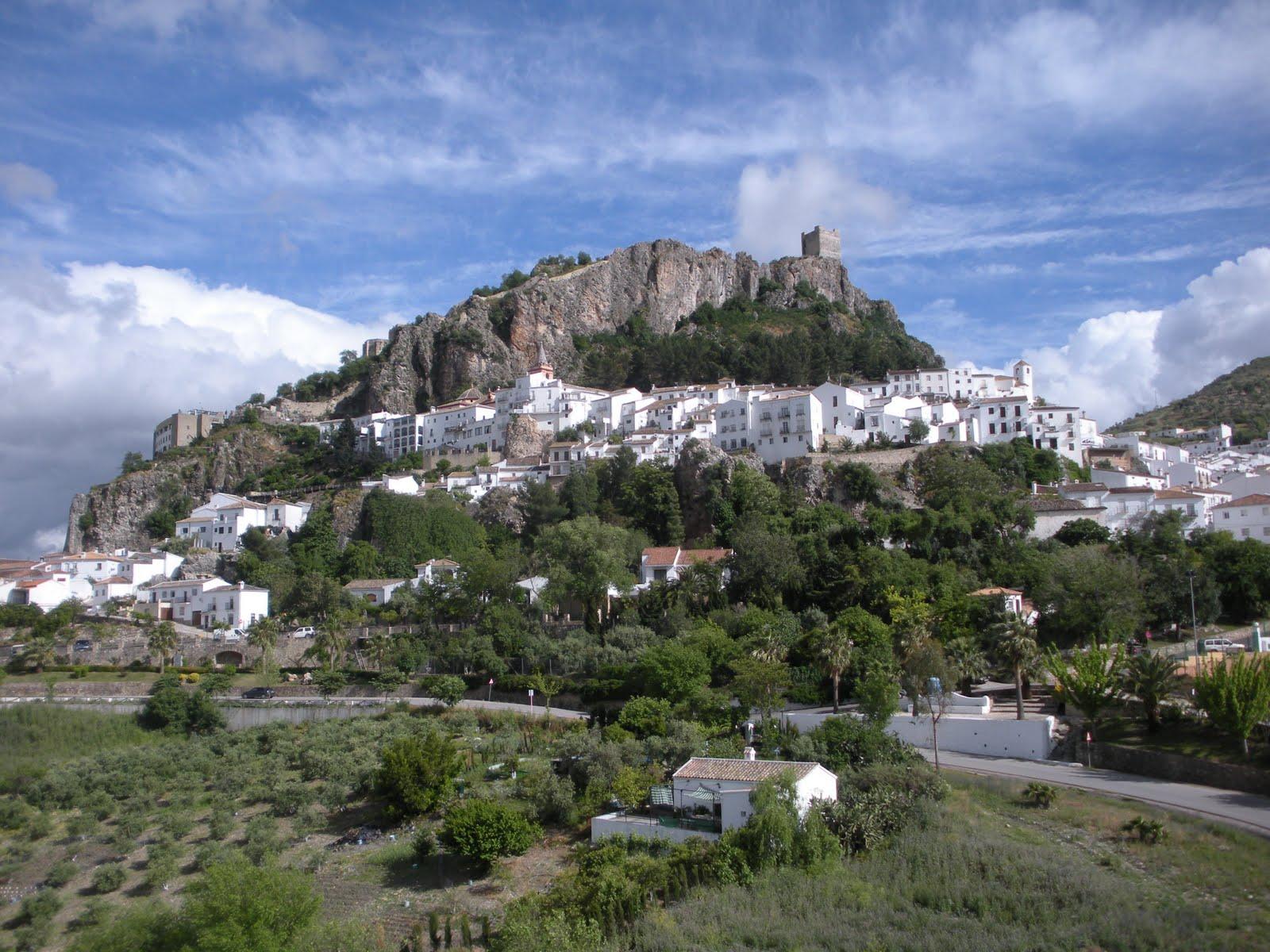 Montagne au coeur de l'andalousie
