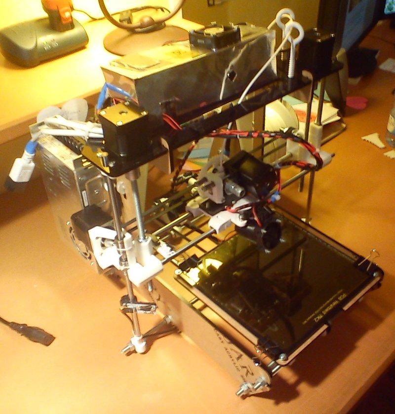 reprap prusa air v2 - imprimante 3d - 23/09/2013