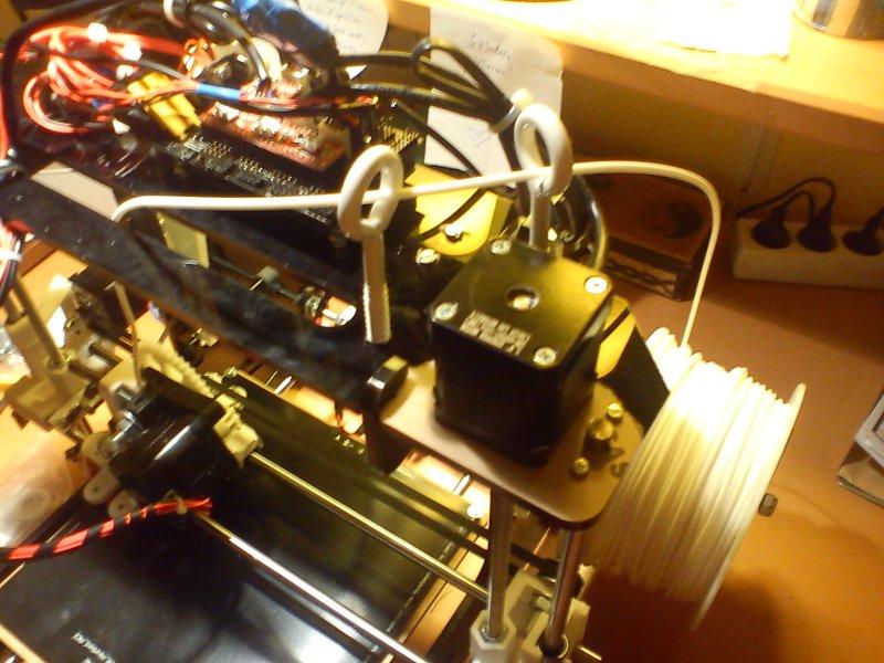 parcours filament imprimante 3D