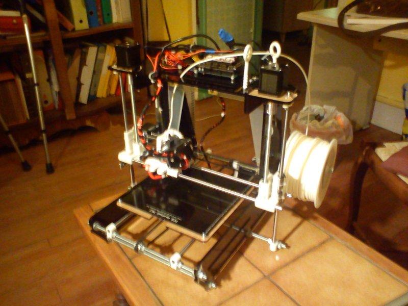 imprimante 3D opensource - alim + bobine
