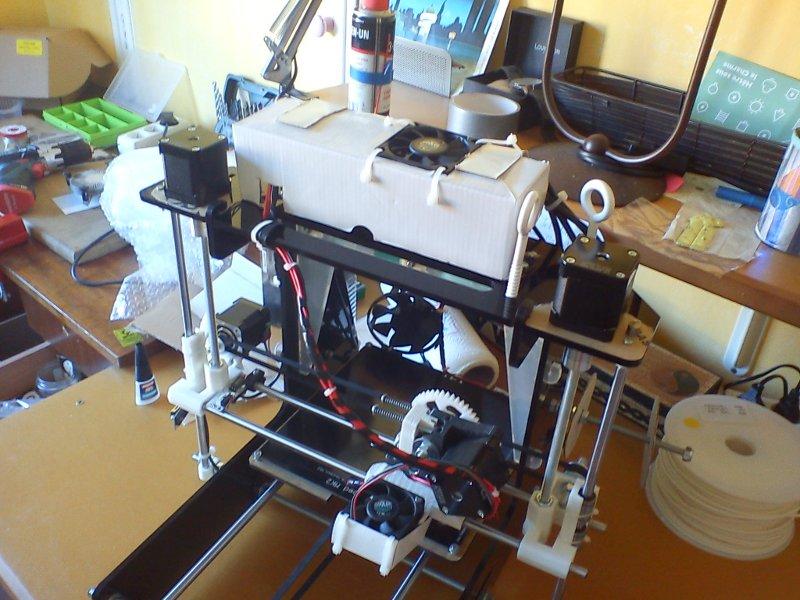 montage imprimante 3d - prusa air v2 - ventilateurs