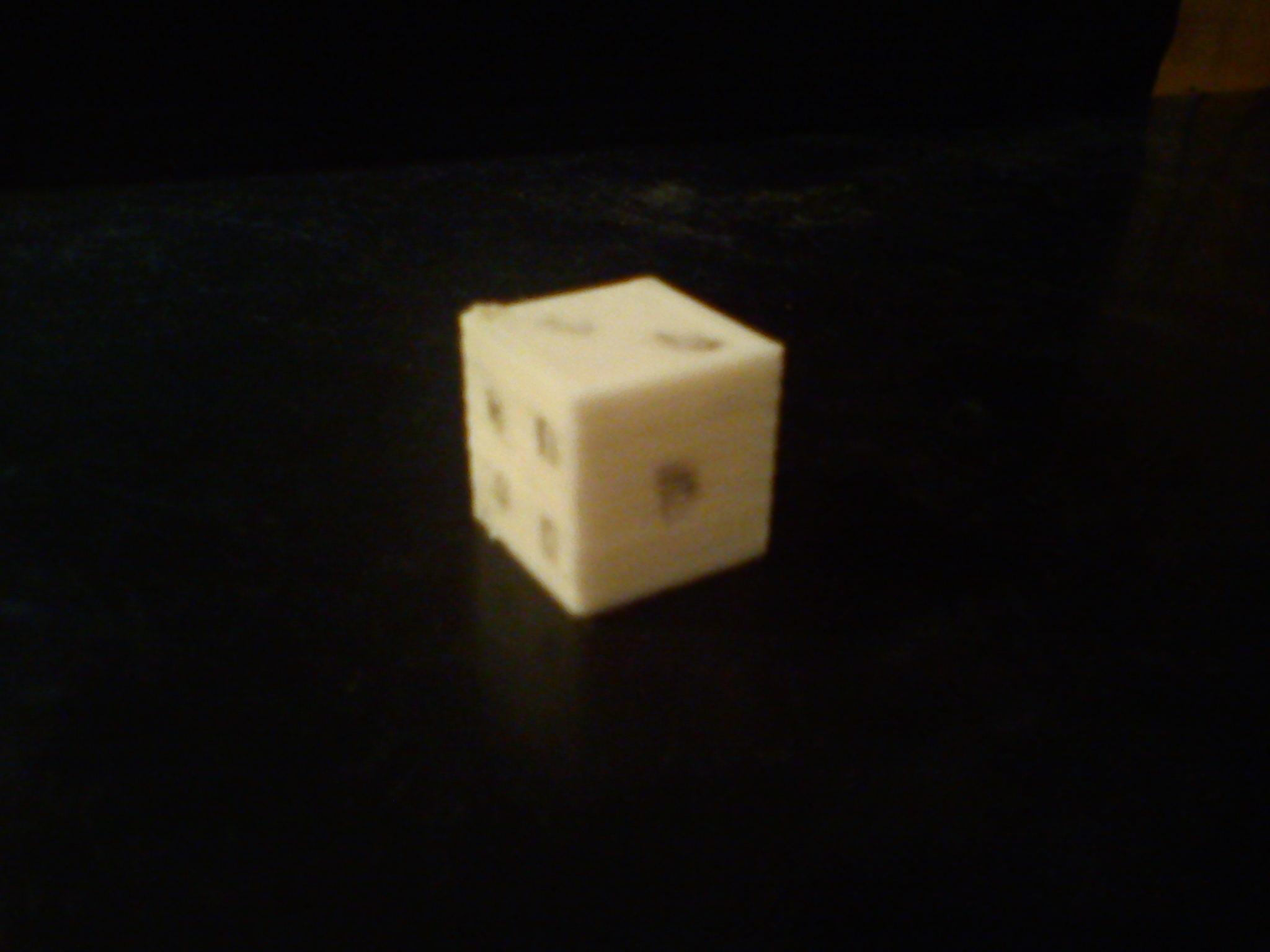 cube de 20 mm