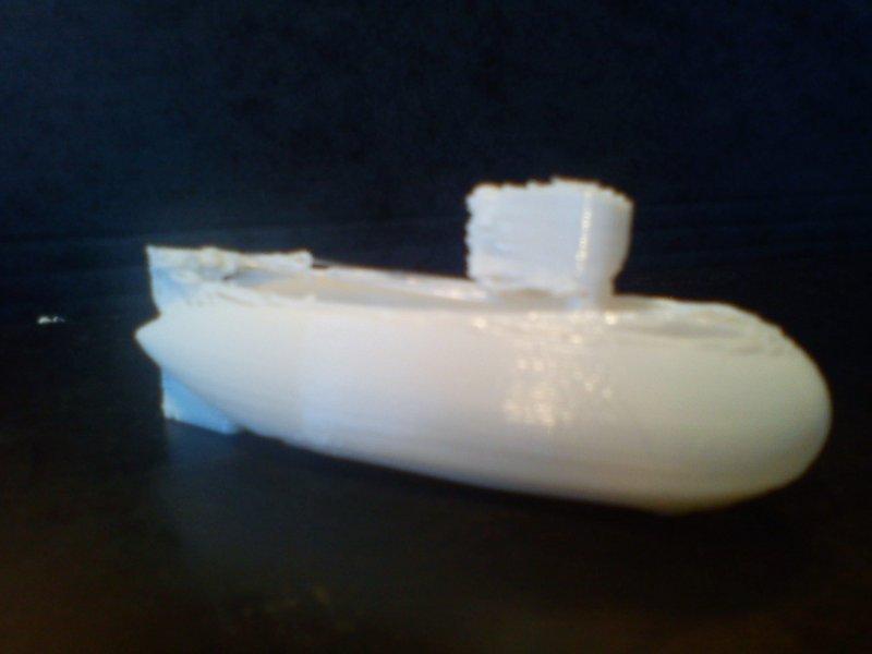 sous marin imprimante 3d