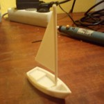 voilier imprimante 3d