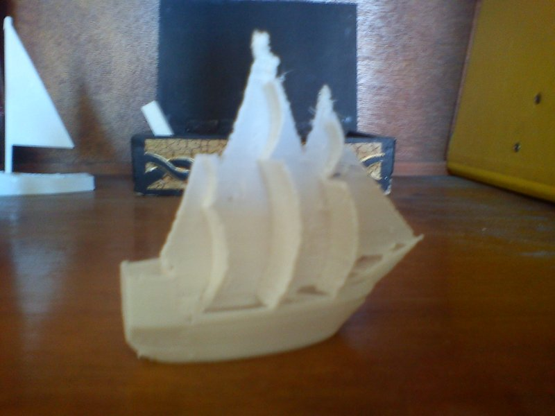 bateau pirate impression 3d