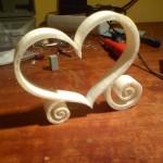 coeur décoratif - impression 3d