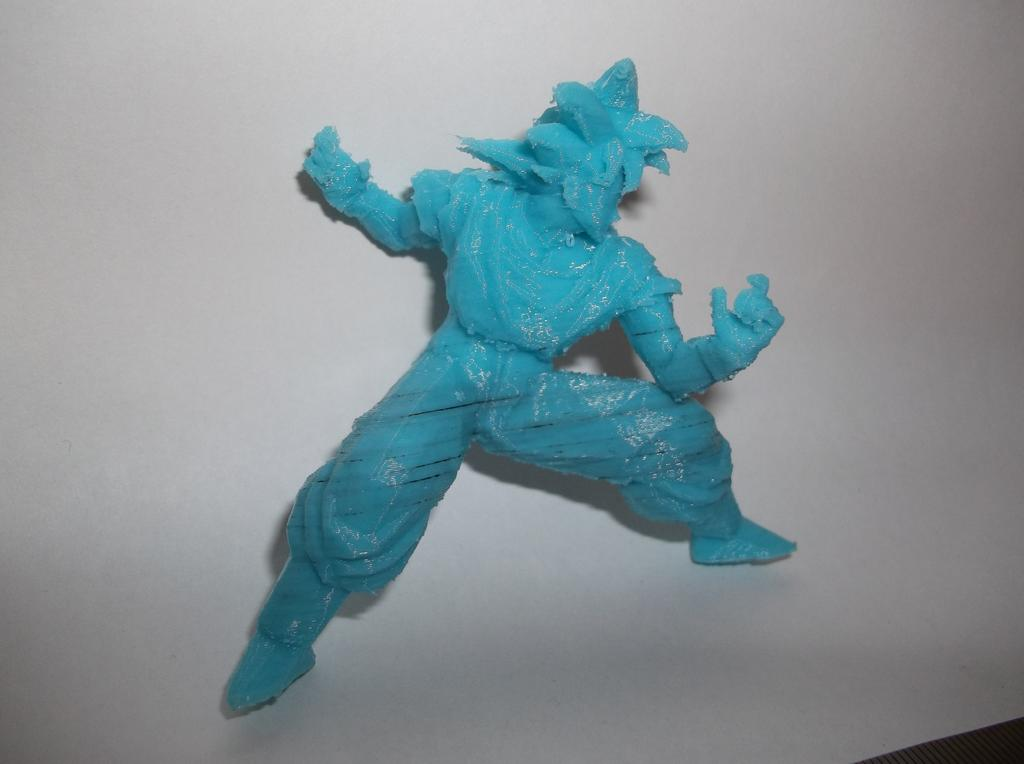 San goku Dragon Ball Z objet 3d