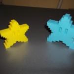 étoile de noel imprimante 3d