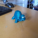 tortue imprimante 3d