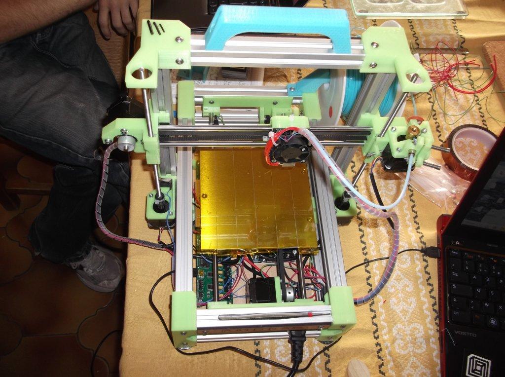 FoldaRap, imprimante 3d portable