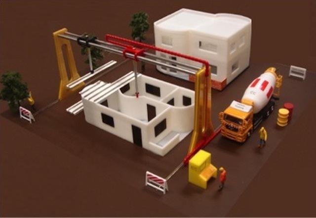 Maison imprimante 3d le futur for Construction de maison imprimante 3d