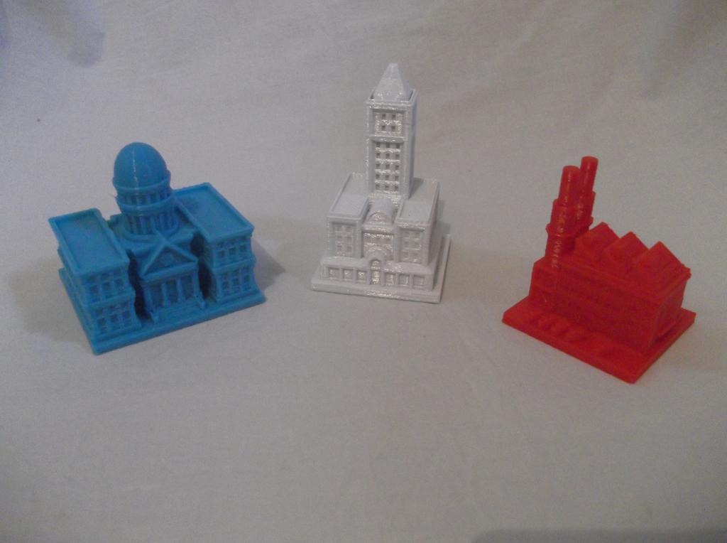 maquette ville imprimante 3D
