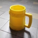 chope a biere imprimée en 3D